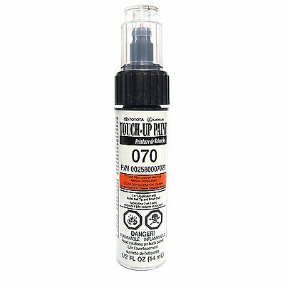 Genuine Toyota Touch Up Paint Code 070 Blizzard Pearl Genuine Toyota New 00258