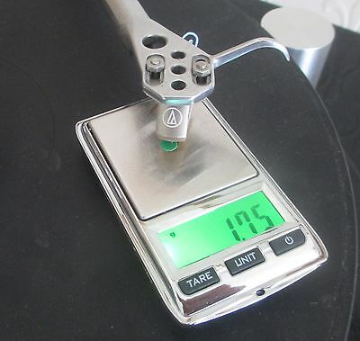 Miniature Digital 0.01g (1/100 Gramme) Scales for Stylus/Cartridge Tracking Wt.