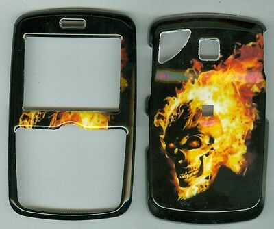 Fire  Skull   HARD COVER CASE PANTECH REVEAL C790 AT&T