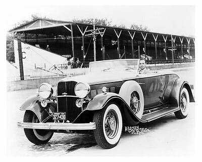 1932 Lincoln Indy 500 Pace Car Photo Edsel Ford  c5527-38K9SZ