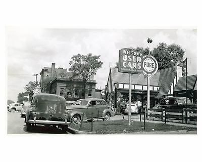 1941 Pure Oil Gas Station Photo Columbia South Carolina Gas Globe ch2606
