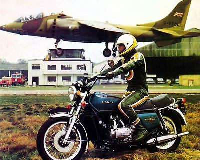 1975 Honda GL1000 Gold Wing Motorcycle Factory Photo c7007-78FFUO