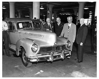 1946 Hudson Factory Photo First Built After War Ended c7083-KEPKP4