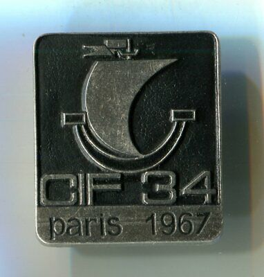 Anstecker CIF 34 Paris 1967 M_108