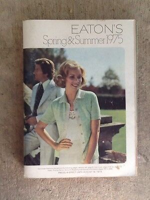 1975 Eaton's Catalog-Canadian Spring & Summer  Catalogue