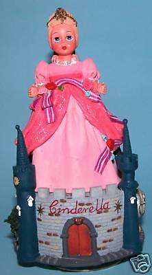 Madame Alexander, Cinderella, castle music box, 90365, Fairy Tale, NIB resin