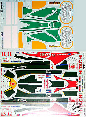 Tamiya 1/20 20038 Lotus 107B Ford Original Decal