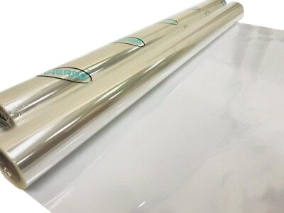 Plain Transparent Clear Cellophane Roll - Gift Wrap Florist Quality - 80cm Film