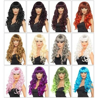Long Curly Wig Adult Womens Costume Fancy Dress