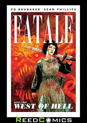 FATALE VOLUME 3 WEST OF HELL GRAPHIC NOVEL New Paperback Collects #11-14