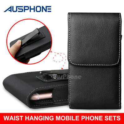 Leather Case Holster Pouch with Belt Clip for Apple iPhone 8 / 7 / 6s / 6 4.7""