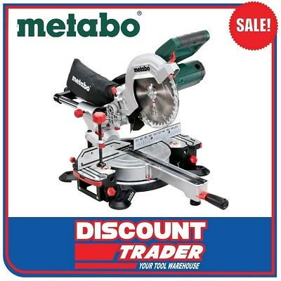 Metabo 216mm Crosscut and Mitre Saw with Sliding Function KGS 216 M 619260190