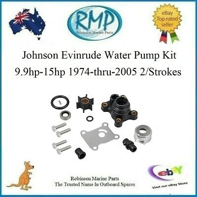 A Brand New Evinrude Johnson Water Pump Kit 9.9hp-15hp 1974-thru-2009 # 394711