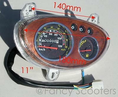 Peace sports TPGS-811- 50/150cc Odometer, Fuel Gauges, Lights indicator Panel