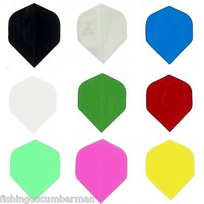 Poly Metronic Plain Standard Dart Flights 9 ColoursTo Choose From
