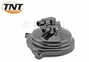 BENELLI 491 50cc METAL WATER PUMP COVER CARBON LOOK