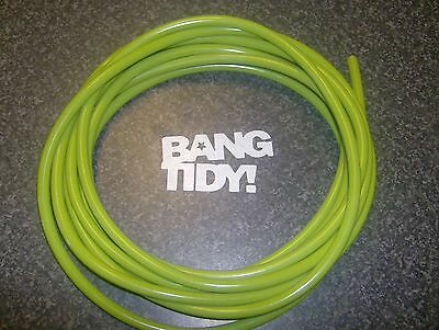Lambretta Green 5-6 Mm Petrol Fuel Line Pipe Hose