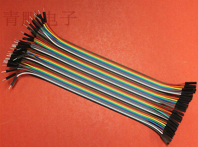 40-pin Rainbow Cable Dupont Wire Jump Wire Male to Female for RAaspberry Pi 20cm