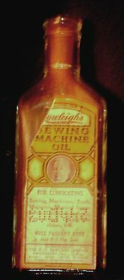 Antique Medicine  Bottle with Label