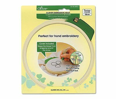 """Clover Embroidery Hoop -Large 18cm (7"""")"""