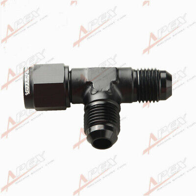 AN6 AN-6 Male To -6AN Male To -6AN Female Pipe Flare Tee T Piece Fuel Fitting