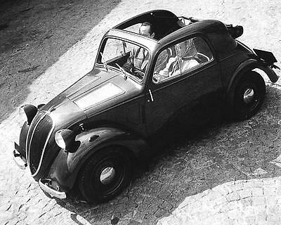 1948 Simca Fiat 500 Topolino Factory Photo u2434-3CQD1E