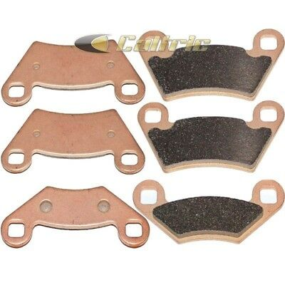Fits Polaris Outlaw 450 525 S 2008 Sintered Front & Rear Brake Pads