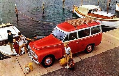 1960 Volvo Duett Station Wagon Factory Photo u2536-DF23BS