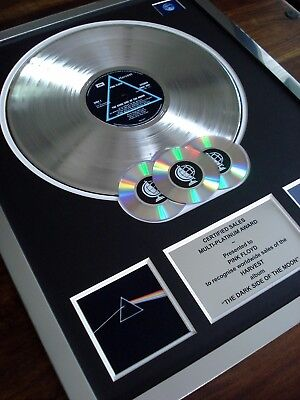 Pink Floyd Dark Side Of The Moon Lp Multi Platinum Disc Record Award Album