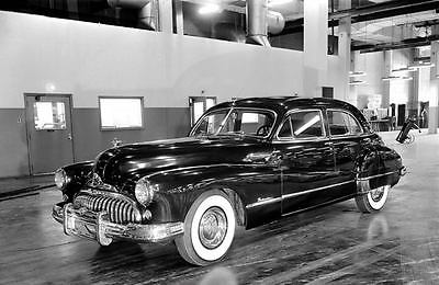 1948  Buick Roadmaster Sedan Factory Photo u2575-Z67K1P