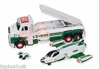 NEW HESS 50th ANNIVERSARY TOY TRUCK AND SPACE CRUISER WITH SCOUT