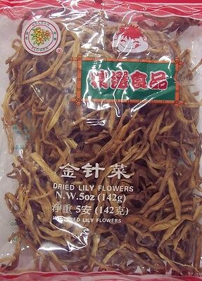 Golden Flower Dried Lily Flowers 5oz Package