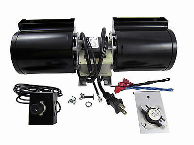 Heat N Glo GFK-160A Replacement Fireplace Blower And Kit Fan Glow FK-180