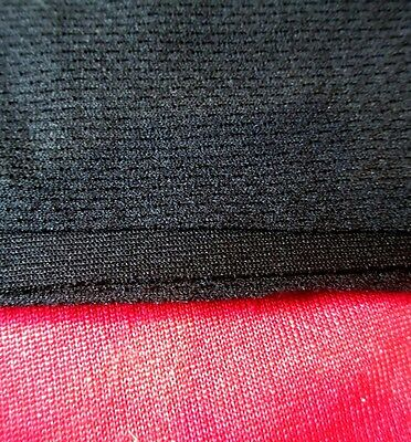 Quality Black Speaker Grill Fabric / Cloth 1.60 Metres Wide x 5.00 Metres Long