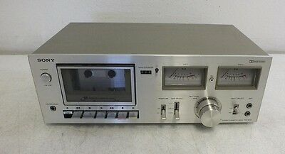Vintage Sony TC-K15 Stereo Cassette Deck w/Dolby Noise Reduction Parts or Repair