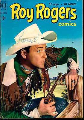 Dell! Roy Rogers Comics #46! Great Looking Book!
