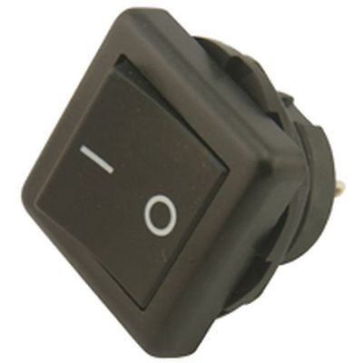Square Panel Mounting Rocker Switch SPST 10A