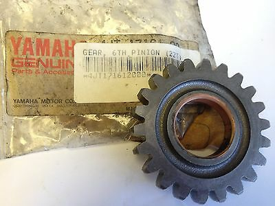 "Genuine YAMAHA Motorcycle Parts TZ125 ""99-00"" 6th Pinion GEAR 22T (4JT-17161-20)"