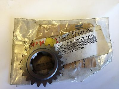 "Genuine YAMAHA Motorcycle Parts TZ125 ""99-00"" 2nd Pinion GEAR 21T (4JT-17121-00)"