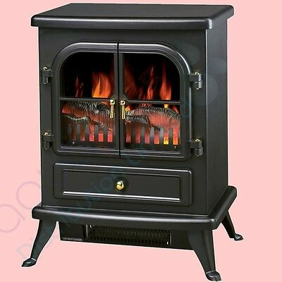 berry chambery 3330 electric fire cast iron effect wood. Black Bedroom Furniture Sets. Home Design Ideas