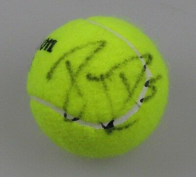 "ROGER FEDERER  Hand Signed Tennis Ball "" BUY AUTHENTIC"" + Photo Proof"