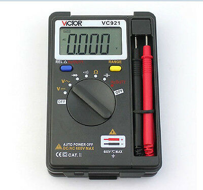 VC921 DMM Multimeter Digital lcd Multimeter Frequency Capacitance Voltage ac/dc