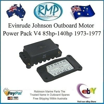 Evinrude Johnson Outboard Motor Power Pack V4 85hp-140hp 1973-1977 # 582056