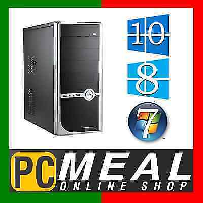 AMD Dual Core A4 7300 Max 4.0GHz Desktop Computer 8GB 1TB HD8470D Gaming PC