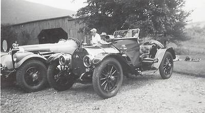 1914 ? Mercer Raceabout & Peter Helck Photo u5695-RCBHDM