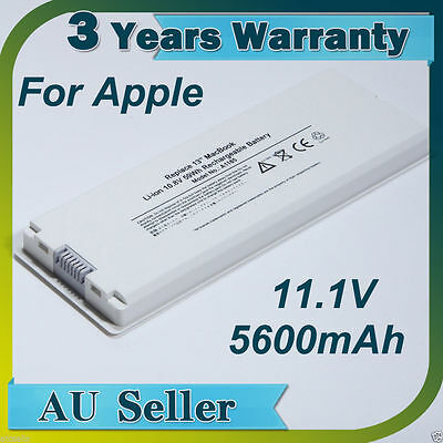 "10.8V A1181 A1185 MA561 MA566 Replace Battery for Apple MacBook 13"" 13.3"" 2.0GHz"