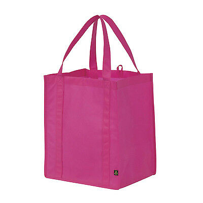 Grocery Tote Fashionable Reusable Storage Shopping Bag - Variety of Colours