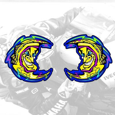 Valentino Rossi Sticker MOON Vinyl Decal various sizes