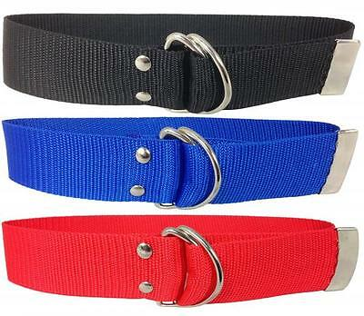 "Childrens Belts Kids 1.5"" Nylon Funky Belts Boys Girls Canvas Look Belt Webbing"