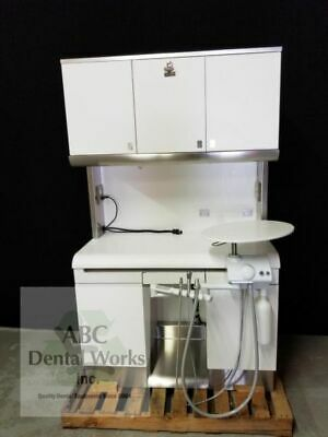 Kavo Enviroment Rear Delivery Cabinet & Knight Biltmore Classic Chair Operatory.